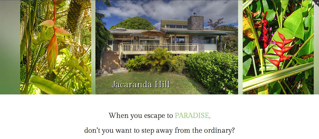 Jacaranda Hill Website